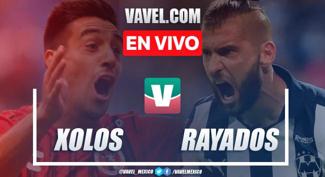 Resumen y video goles Xolos 0-4 Monterrey en Apertura 2019