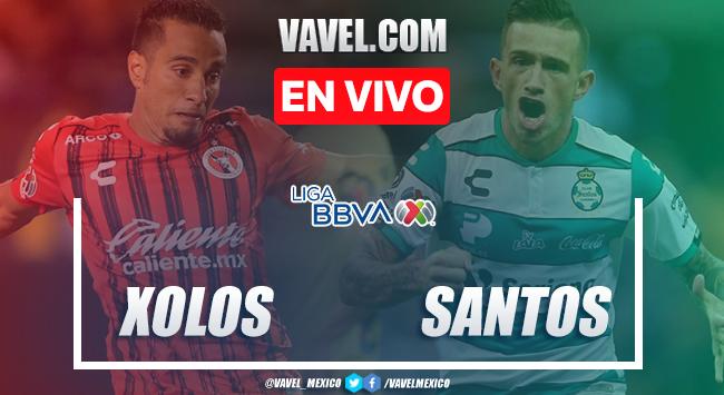 Resumen y video goles Xolos 2-1 Santos Laguna en Liga MX 2020
