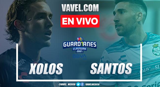 Gol y resumen: Xolos Tijuana 0-1 Santos en Liga MX 2021