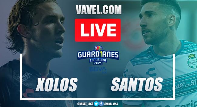 Goal and Highlights: Xolos Tijuana 0-1 Santos on Liga MX 2021