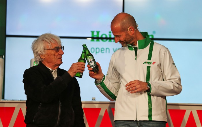 Cervejaria Heineken se torna nova patrocinadora da Fórmula 1
