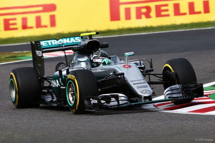 Rosberg lidera segundo treino livre no Japão
