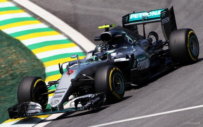 Rosberg lidera terceiro treino livre em Interlagos