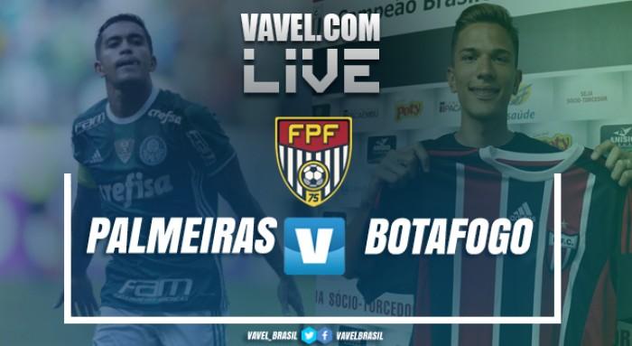 Resultado Palmeiras 1x0 Botafogo-SP pelo Campeonato Paulista 2019