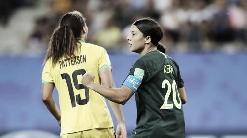 Com show de Kerr, Austrália bate Jamaica e se classifica para as oitavas