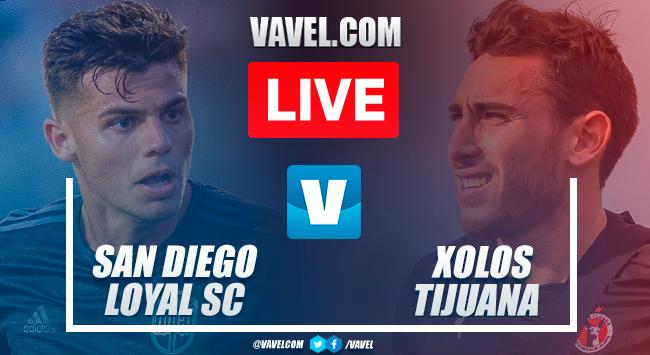 Goal and highlights: San Diego Loyal 0-1 Xolos Tijuana inFriendly Match 2021