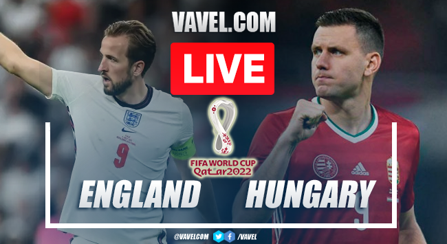 Goals and Highlights: England 1-1 Hungary in 2022 World Cup Qualifiers