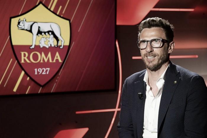 """Roma, Di Francesco: """"Sarei contento di riabbracciare Totti. Scudetto? Dipende..."""""""