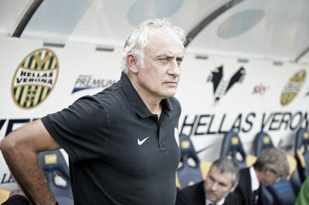 """Verona, Mandorlini: """"Non partiamo battuti, Pazzini titolare"""""""