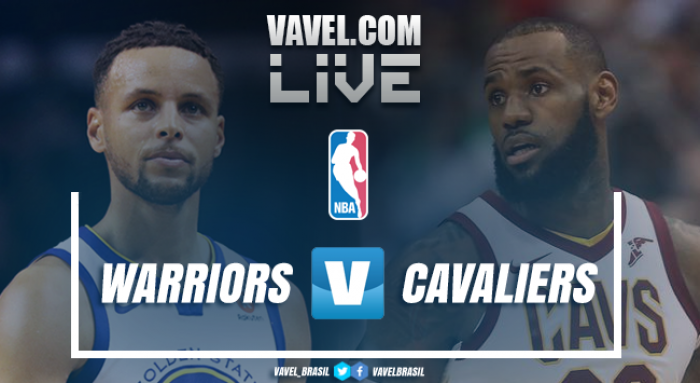 Jogo Golden State Warriors x Cleveland Cavaliers ao vivo online na NBA 2017/18