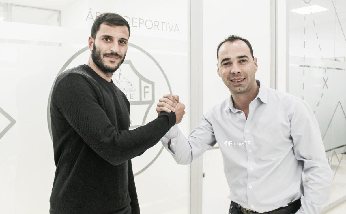 Yacine y Jorge Cordero | Fuente : Elche CF