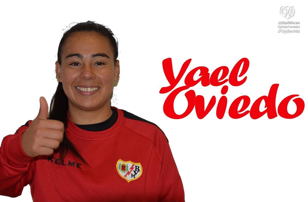 Yael Oviedo llega al Rayo