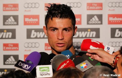 """Cristiano Ronaldo: """"No es un resultado muy bueno, pero hay que seguir"""""""