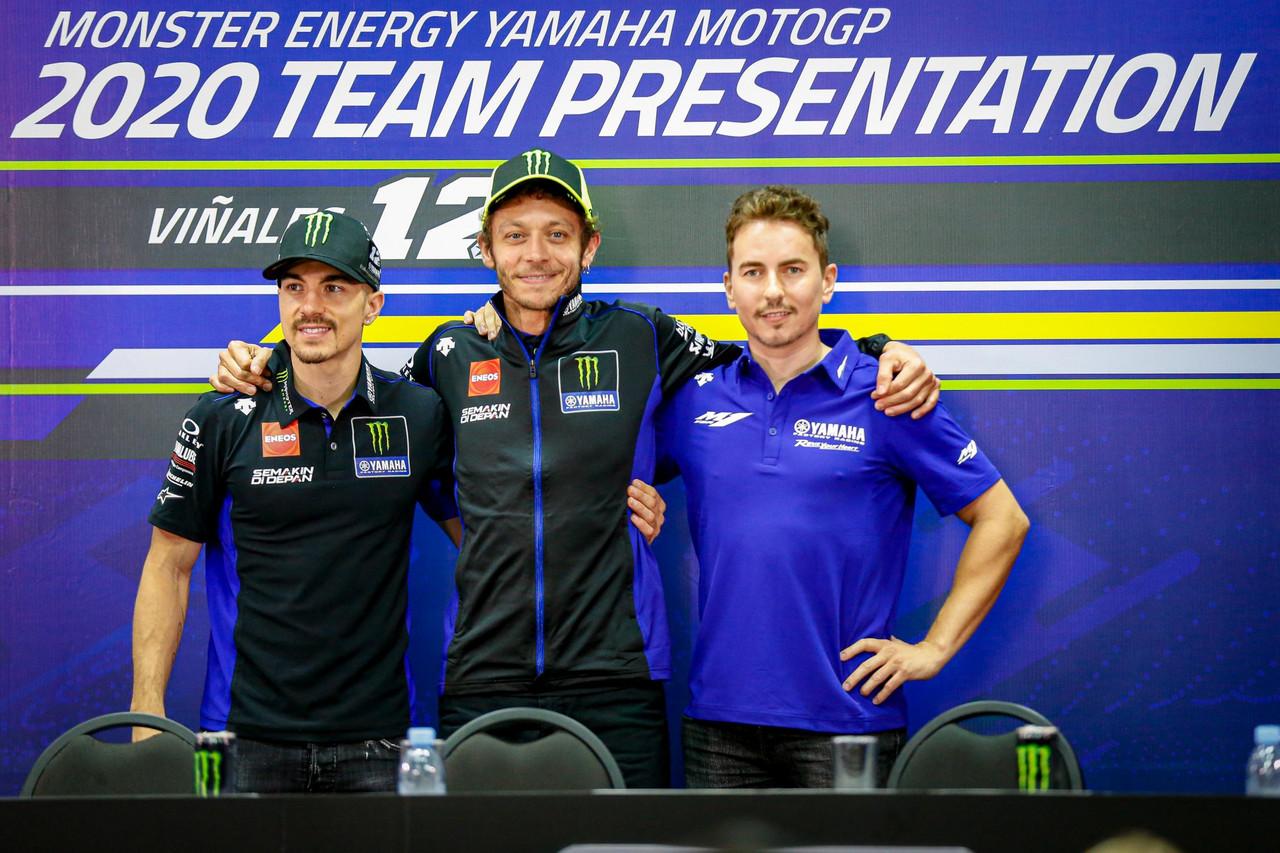 Día de presentaciones para Yamaha, que muestra sus armas para desbancar a Honda