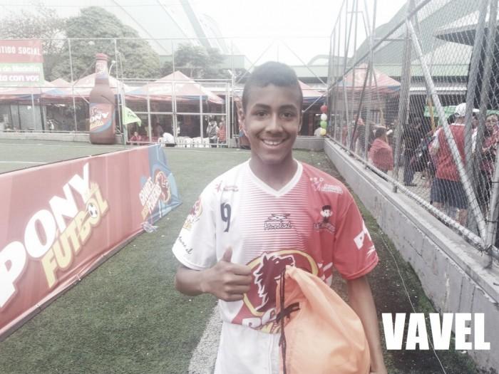 """Yan Carlos Vega: """"Me gustó el tercer gol porque pude explotar mi velocidad"""""""