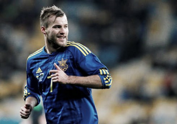 Liverpool linked to Dynamo Kyiv's Andriy Yarmolenko