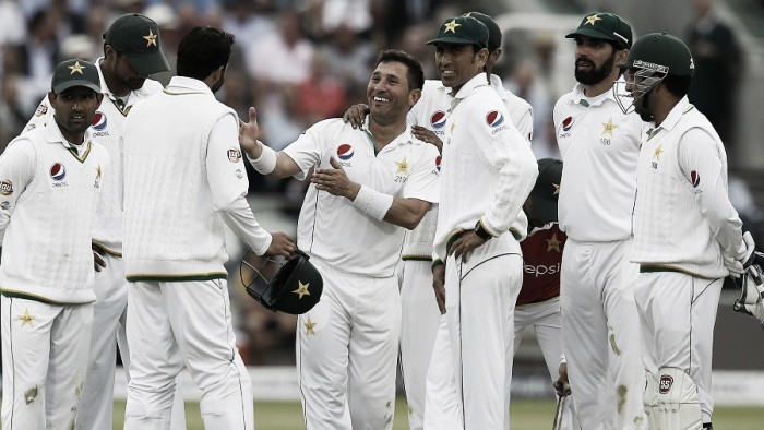 England vs Pakistan Day Two: Yasir spins the tourists into the driving seat at Lord's