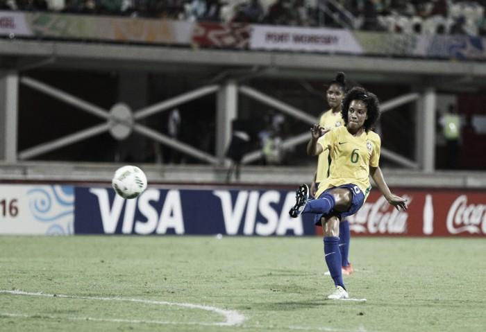 Yasmin comemora gols pela Seleção Brasileira e bom início no Mundial Feminino Sub20