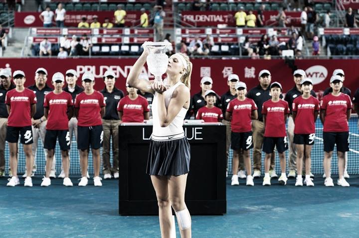 Yastremska atropela Wang e conquista primeiro título na carreira em Hong Kong