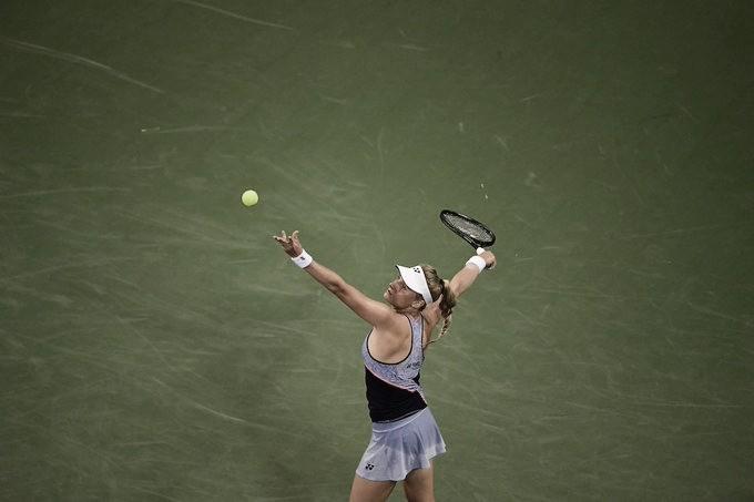 Yastremska desbanca Wozniacki na estreia de Cincinnati