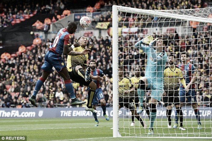 Crystal Palace 2-1 Watford: Spirit of 1990 shines through as Palace book final spot