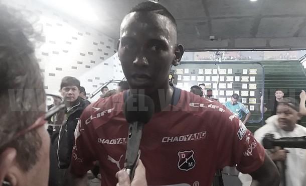 """Yesid 'Mambo' Díaz: """"Jugar el clásico paisa es uno de los sueños de todo jugador de Antioquia"""""""