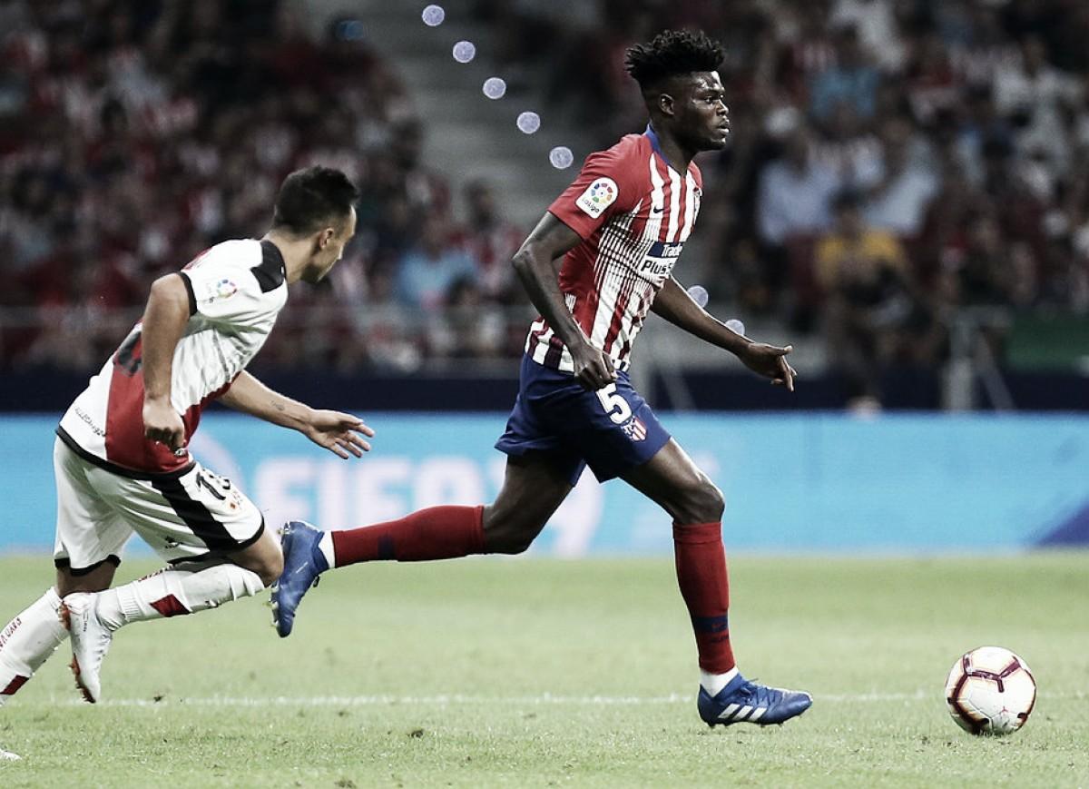 Thomas se une al paseo de las leyendas del Atlético