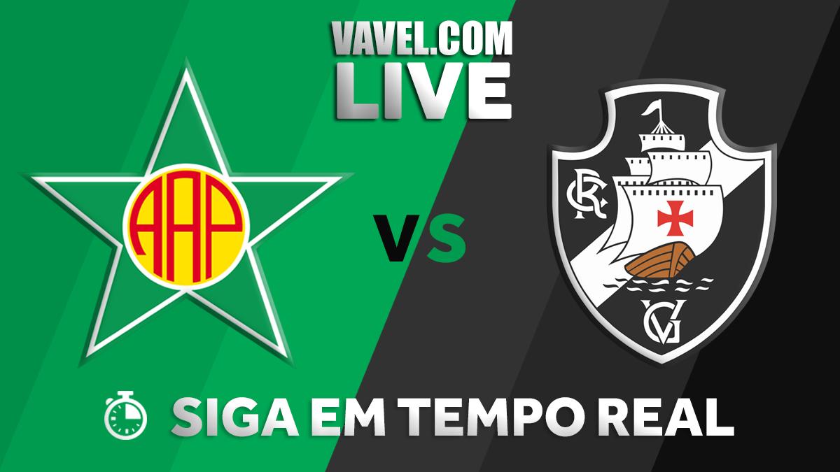 Resultado Portuguesa 0x1 Vasco no Campeonato Carioca 2019