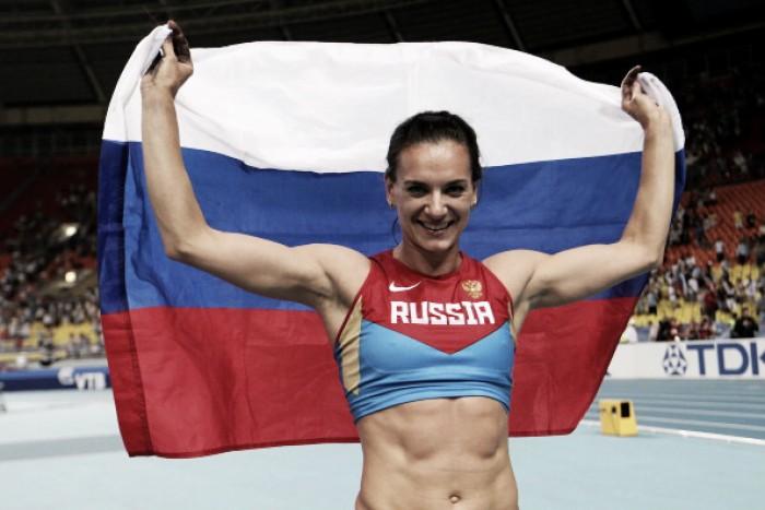 Yelena Isinbayeva: principal nome da história do salto com vara quer brilhar no Rio 2016