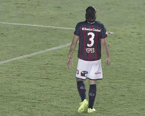 Mario Alberto Yepes debutó con San Lorenzo