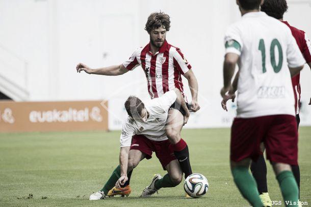 Yeray Álvarez, baja en el Bilbao Athletic
