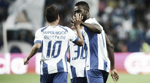 Colombianos brillaron en la victoria del Porto