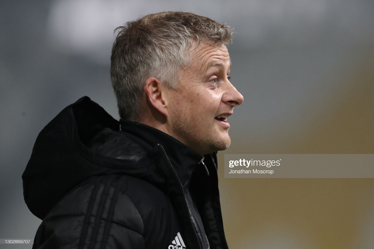 Solskjaer reacts to United taking control of Europa League tie