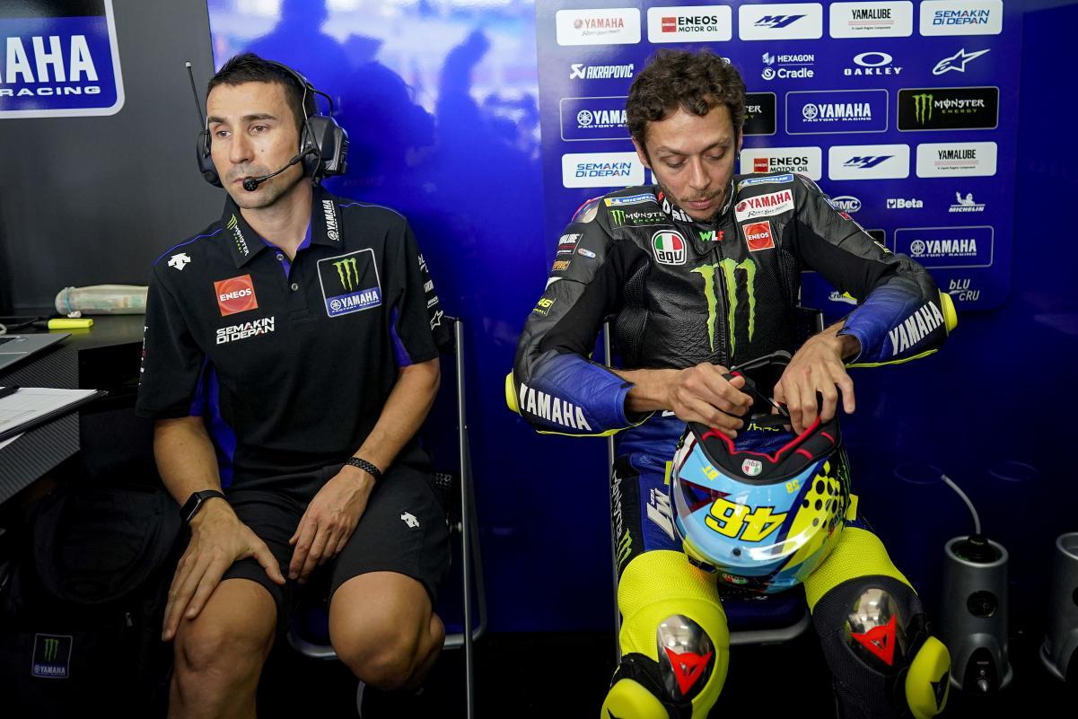 """Valentino Rossi y el Petronas SRT: """"Nos sentaremos en un futuro para negociar, pero solo si llega un patrocinador fuerte"""""""