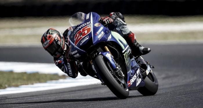 Rossi y Viñales buscan ser más rápidos en Australia