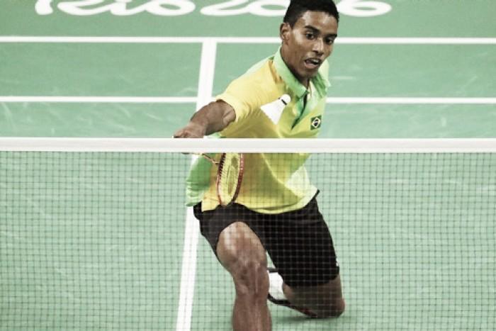 "Ygor Coelho é eliminado no Badminton, mas deixa Olimpíada feliz: ""Me amarrei"""