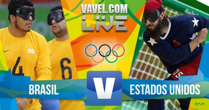 Resultado Brasil x Estados Unidos no Goalball masculino dos Jogos Paralímpicos (1-10)