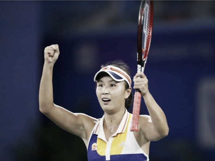 WTA Wuhan: Peng Shuai battles past Petra Kvitova in three-hour thriller
