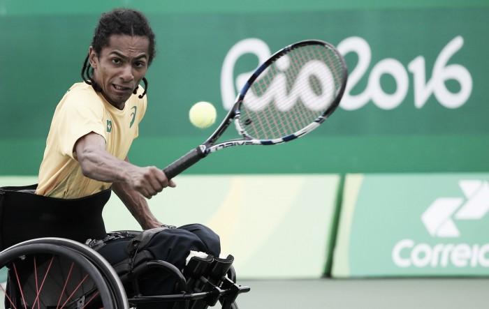 Tênis em Cadeira de Rodas: Rodrigues e Ymanitu avançam; Mayara cai nas duplas
