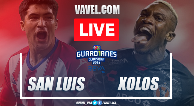 Goals and Highlights of Atlético San Luis 2-2 Xolos on Guard1anes 2021