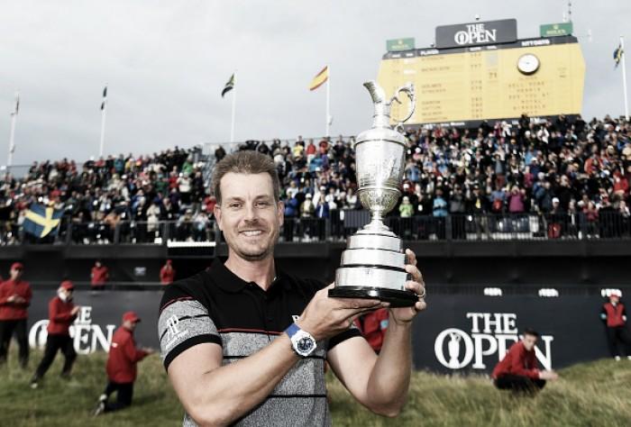 Sueco Henrik Stenson vence 145° edição do The Open e conquista primeiro Major no golfe