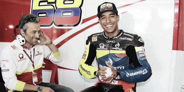 Yonny Hernández no participará en el primer test en Sepang