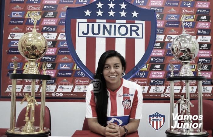 """Yoreli Rincón: """"Me gusta el trato que Junior le está dando a su equipo femenino"""""""