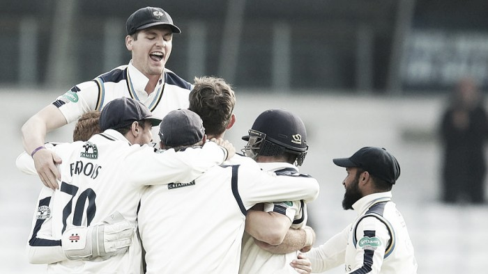 County Championship round-up: Roses pair the early pacesetters in Championship after overcoming weather and opposition