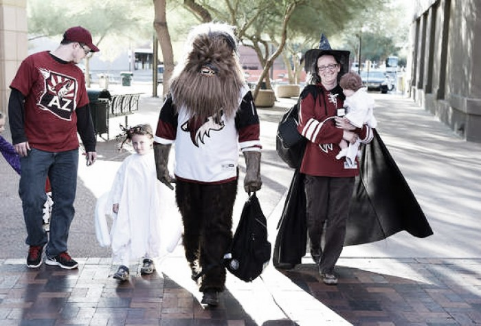 Arizona Coyotes look spooky in loss to Colorado Avalanche