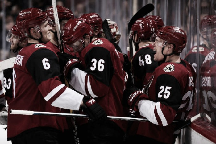 Arizona Coyotes play has shown improvement last eight games