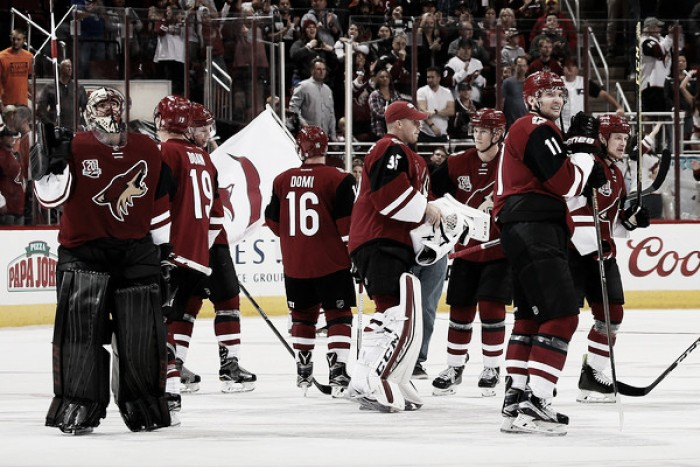 Arizona Coyotes end winless road trip against Philadelphia Flyers