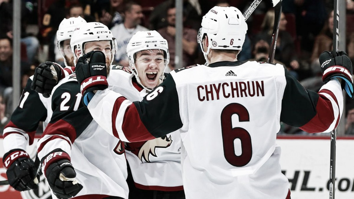 Arizona Coyotes continue to surge as the season draws to an end
