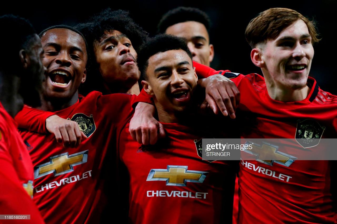 Solskjaer praises young Man United stars despite defeat