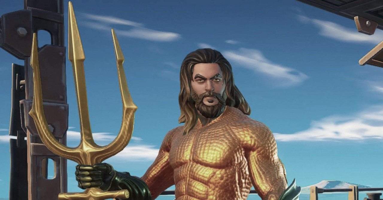 Aquaman é destaque em Fortnite Chapter 2 Season 3